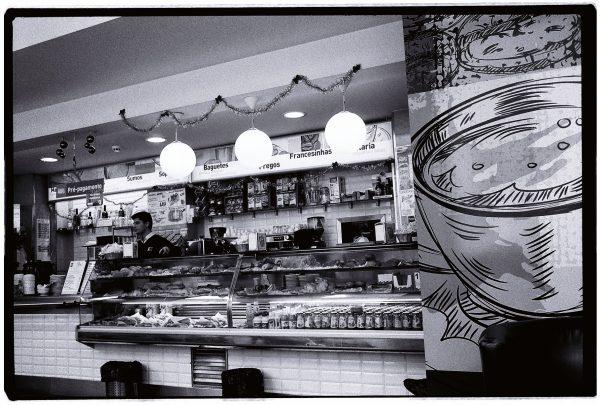 Un café très sympa dans le centre de Lisbonne