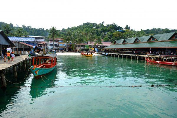 Le petit port de Koh Rong