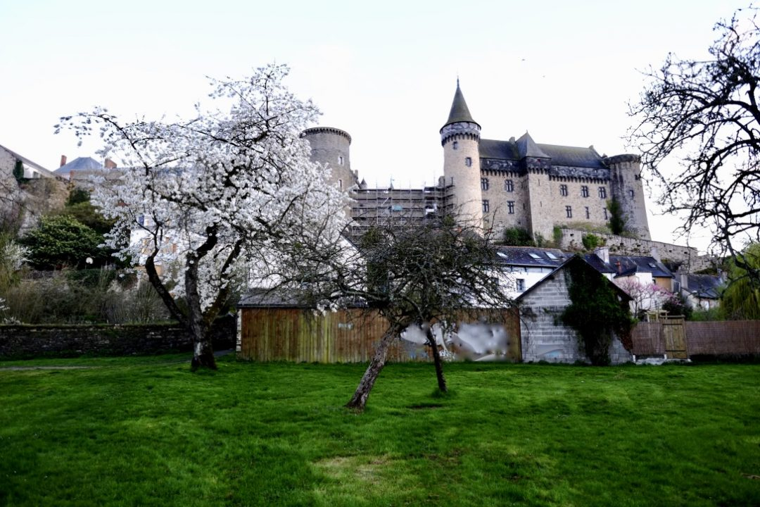 Vitré, la Vilaine et son château fort