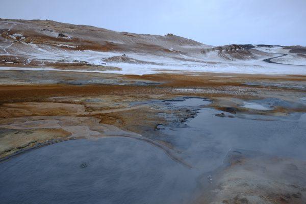 Le site géothermique de Hverir