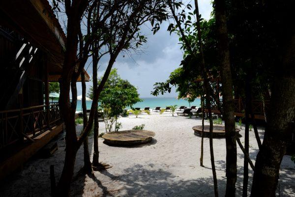 Sok San un resort sur la côte Ouest