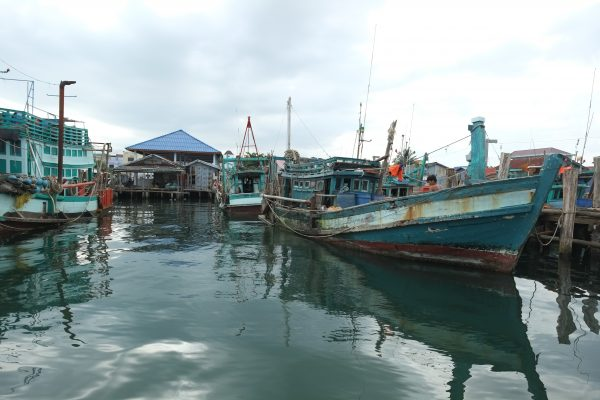 L'un des points de départ pour l'île de Koh Rong