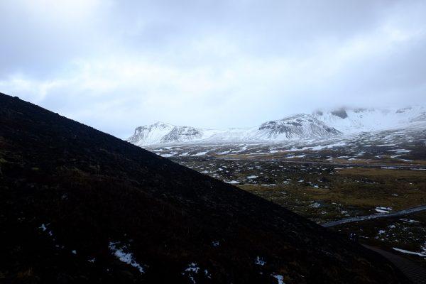 l'ascension du volcan de Saxholl, l'une des choses à faire en Islande