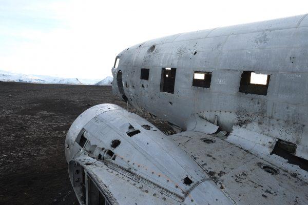 Urbex dans le sud de l'Islande