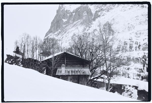 Un chalet dans les alpes bernoises