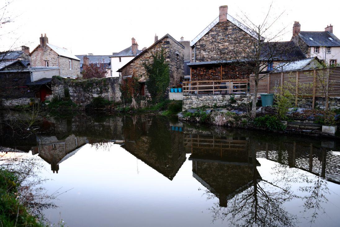Vitré, la Vilaine l'un des plus beaux cours d'eau de France