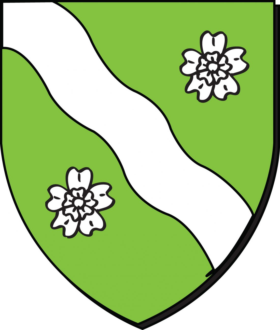 Les armoiries de la ville de Schaerbeek en Belgique