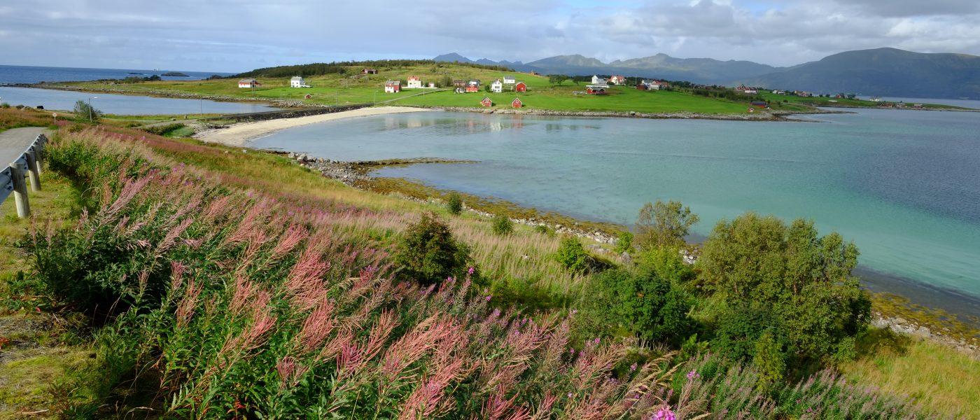 Un paysage de rêve en Norvège