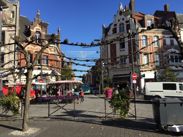 Béthune une grande ville du nord de la France
