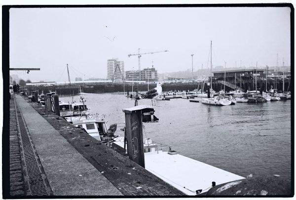 Le port de Boulogne sur Mer dans le Pas de Calais