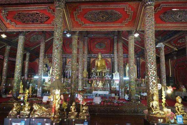 Un temple bouddhiste dans le nord de la Thaïlande