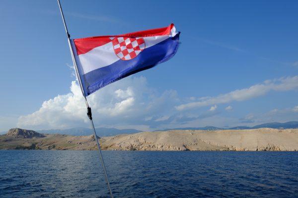 En mer dans le nord de la Croatie