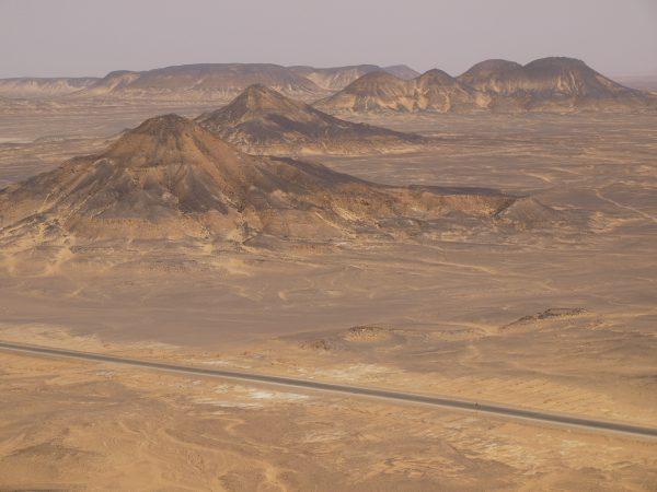 Les beaux déserts égyptiens