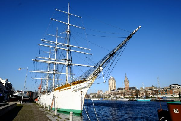 Le port de plaisance de Dunkerque