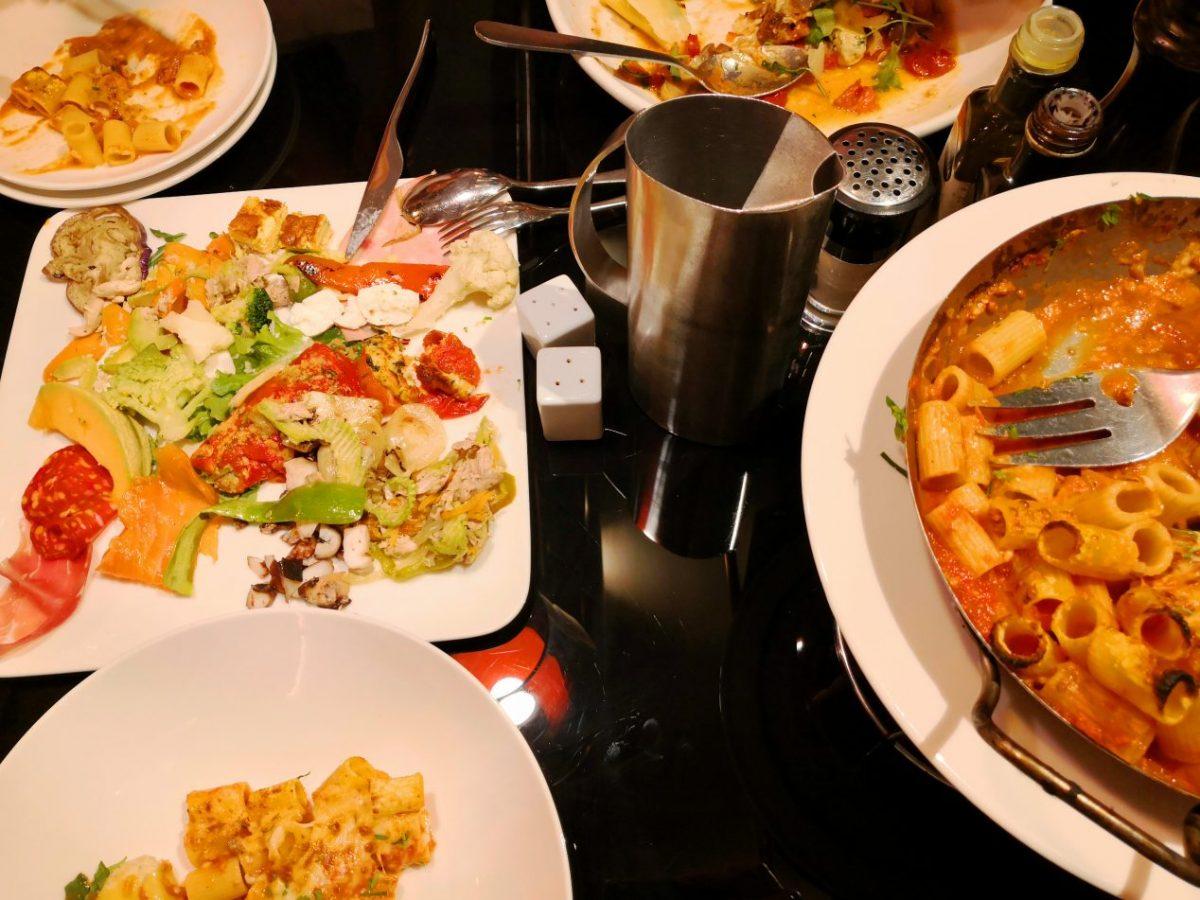 Des plats généreux c'est ça l'esprit de la Voglia à Nice