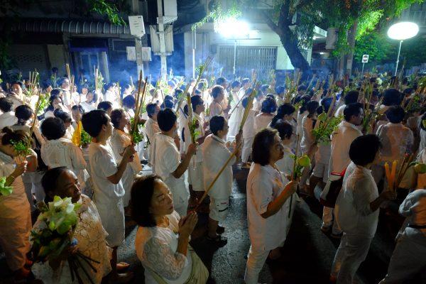 La fête du Dragon dans le quartier chinois de Bangkok