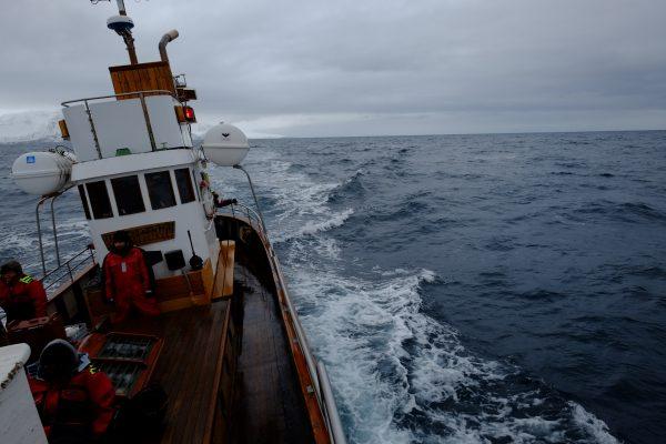 Océan Arctique, un décors et une ambiance incroyable