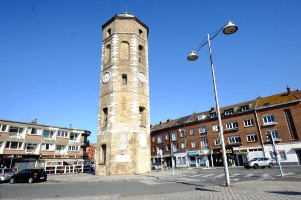 La tour du Leughenaer le plus vieux monument de la ville