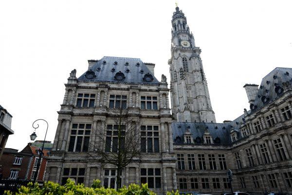 Arras l'une des principales villes du nord de la France