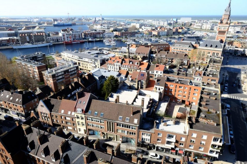 Un panorama sur la ville de Dunkerque