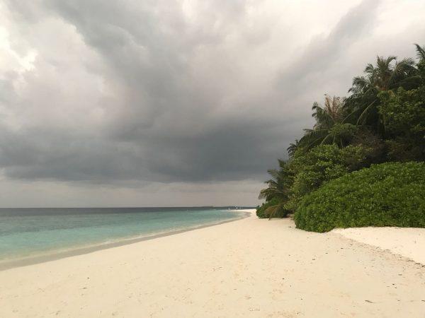 Le ciel se couvre aux Maldives