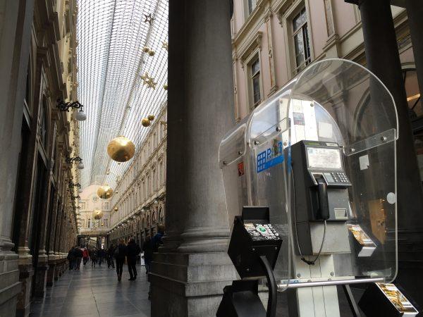 Un beau passage couvert à admirer lors d'une escale à Bruxelles