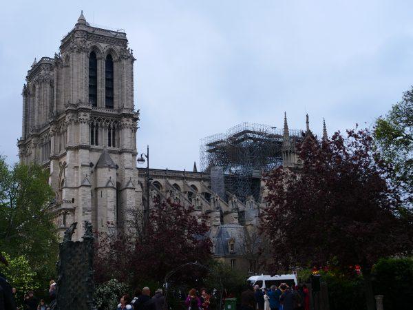 La cathédrale de Paris le mardi 16 mars 2019