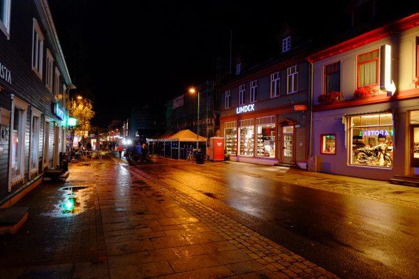 Tromso, ici il fait nuit pendant des mois