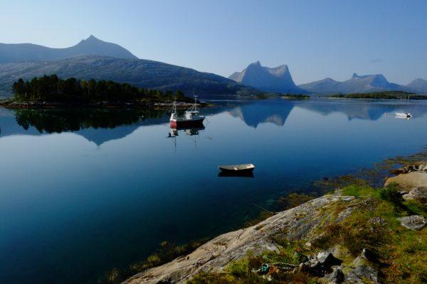 Un calme olympien dans le centre de la Norvège