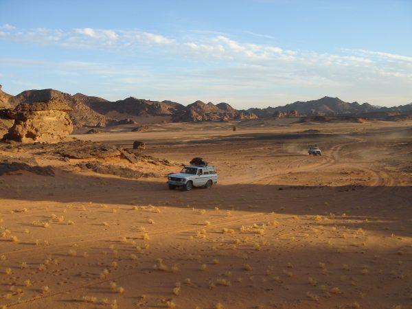 Vers Akarus en Libye