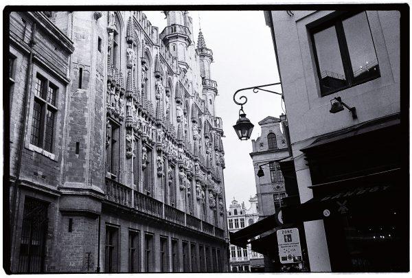 L'hôtel de ville à Bruxelles
