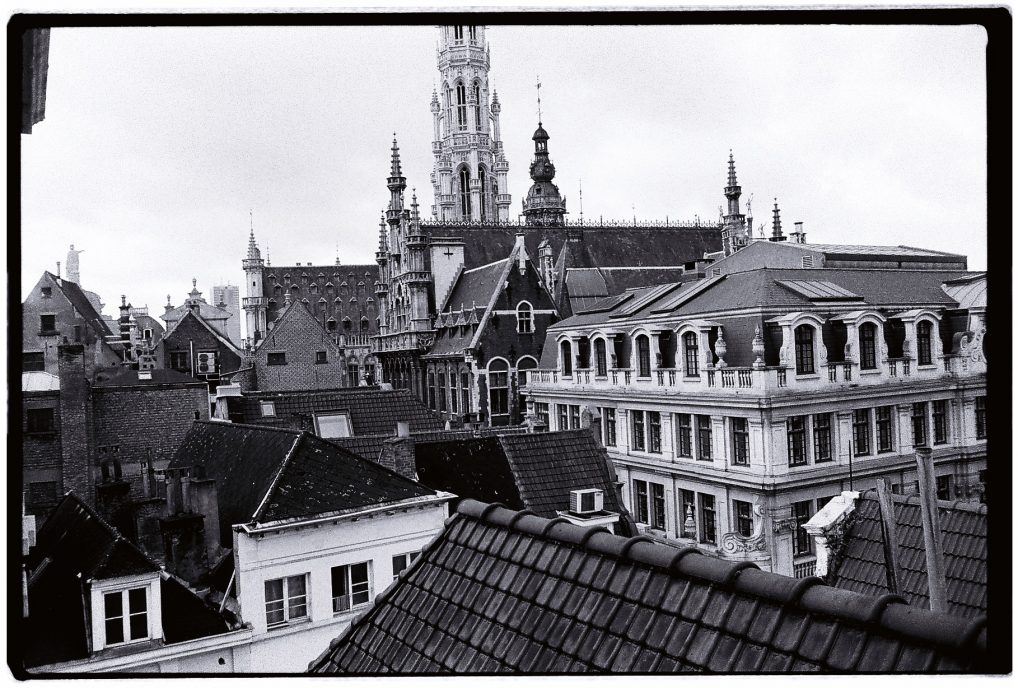 Bruxelles en noir et blanc