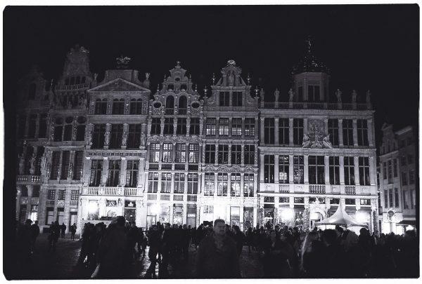 Bruxelles la nuit, cette ville est splendide