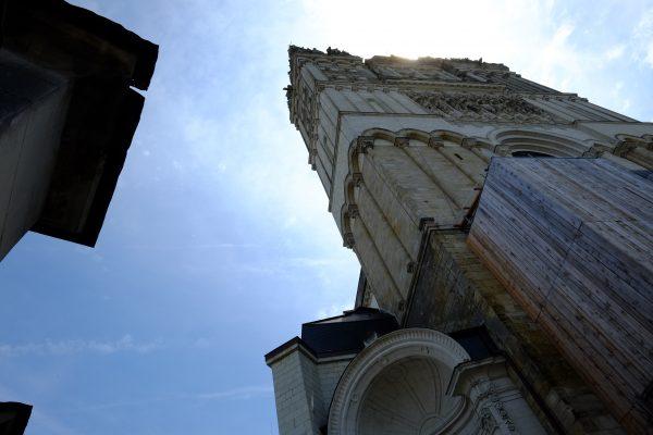 L'un des plus beaux monuments à Angers