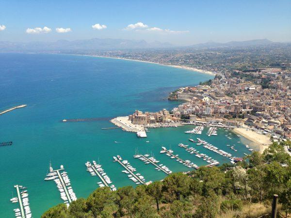 La mer Méditerranée en Sicile