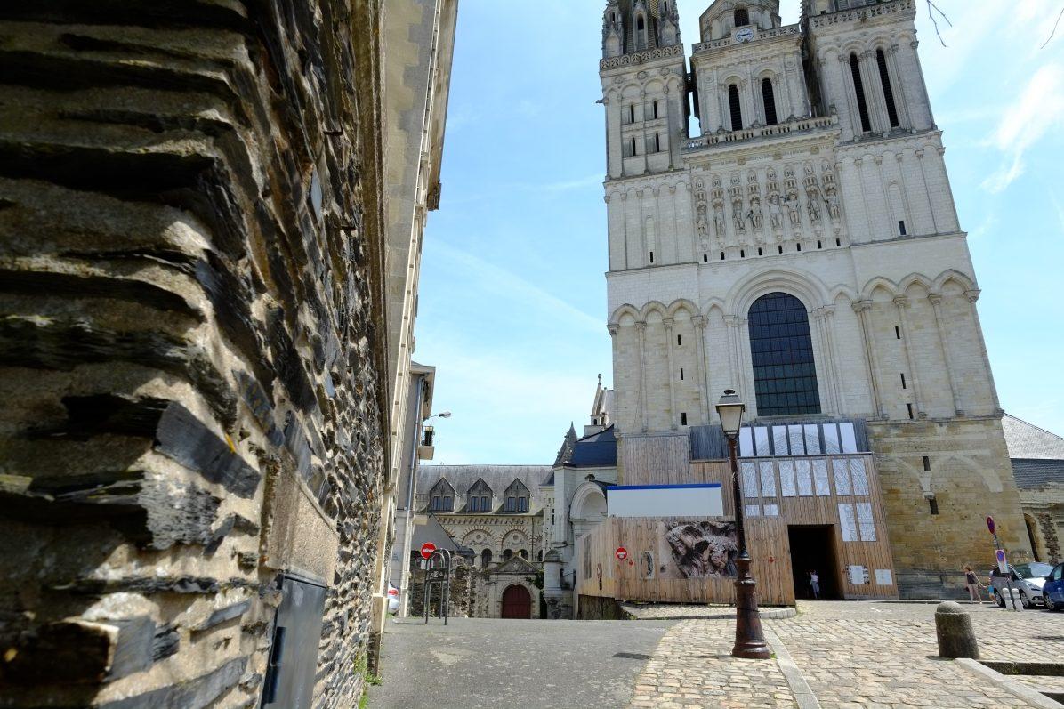 La splendide cathédrale d'Angers