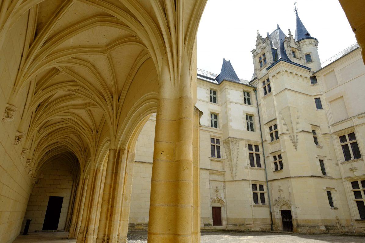 L'architecture du centre ville à Angers