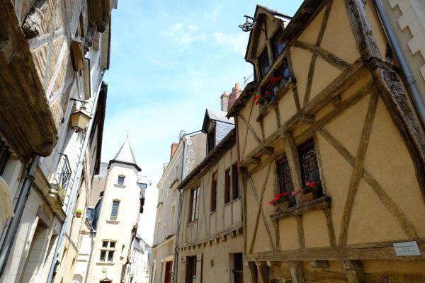 L'une des plus vieilles maison du centre ville d'Angers