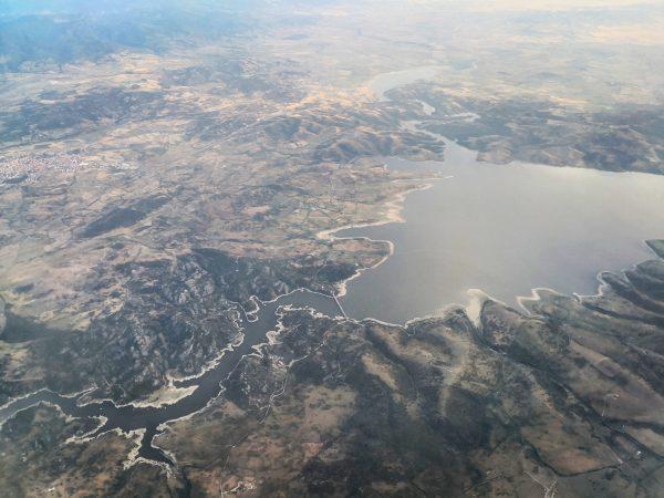 Un magnifique lac dans le nord de l'île