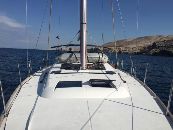 En navigation entre les îles croates