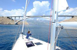 Entre les îles croates en voilier