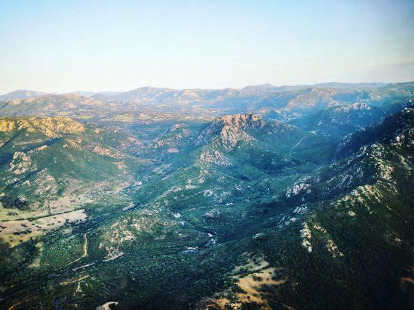 La Sardaigne vue du ciel