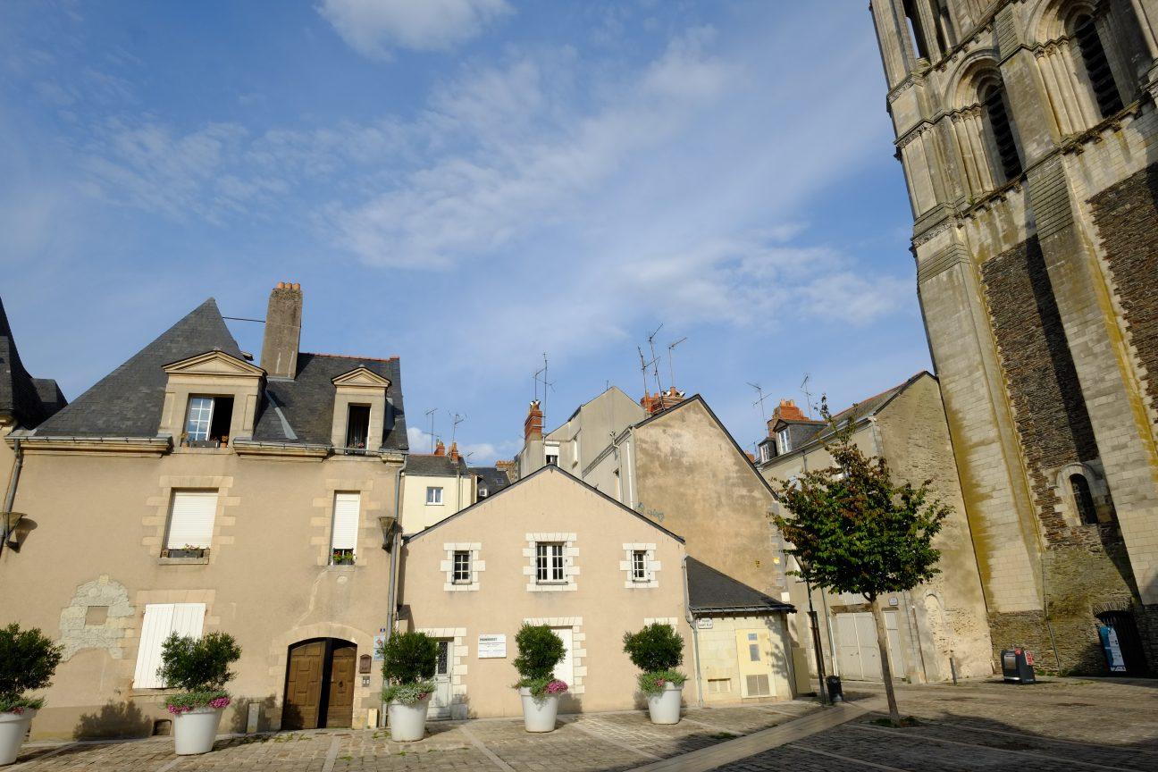 Les petites maisons du centre ville d'Angers