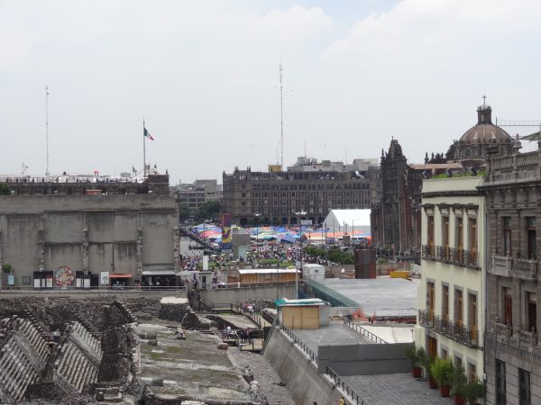 La capitale du Mexique