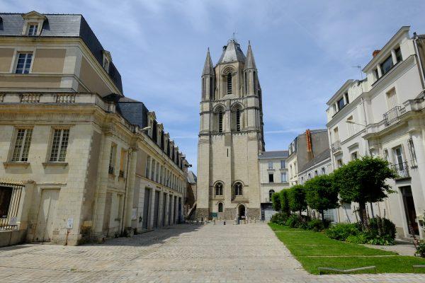 La tour Saint-Aubin à Angers