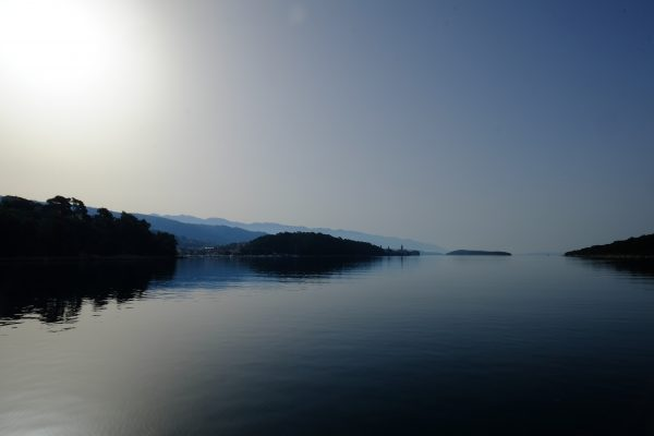 La mer Adriatique en Croatie