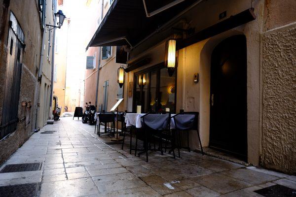 L'une des plus belles adresses de Saint-Tropez
