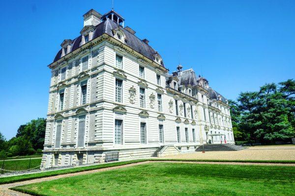 Le splendide château de Cheverny dans le val de Loire