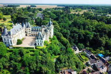 le splendide château de Chaumont sur Loire