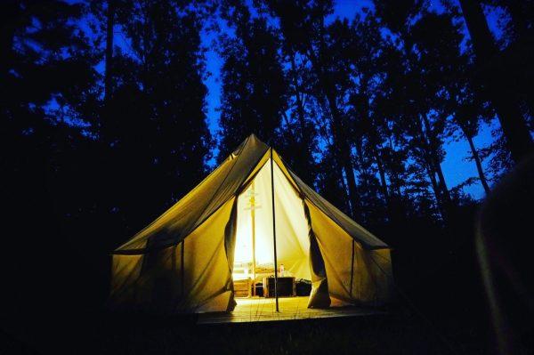 Le camping de l'Heureux Hasard